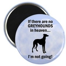 Greyhounds In Heaven Magnet