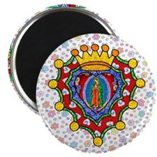 "Guadalupe Crown Milagro 2.25"" Magnet (10 pack)"