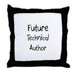 Future Technical Author Throw Pillow