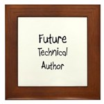 Future Technical Author Framed Tile