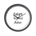 Future Technical Author Wall Clock