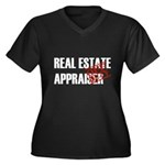 Off Duty Real Estate Appraise Women's Plus Size V-