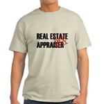 Off Duty Real Estate Appraise Light T-Shirt