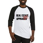 Off Duty Real Estate Appraise Baseball Jersey