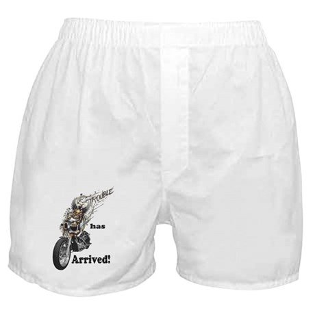 Trouble has arrived Boxer Shorts