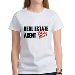 Off Duty Real Estate Agent Women's T-Shirt