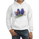 Bluebonnets with Indian Paint Hooded Sweatshirt