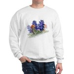 Bluebonnets with Indian Paint Sweatshirt