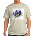 Bluebonnets with Indian Paint Ash Grey T-Shirt