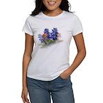 Bluebonnets with Indian Paint Women's T-Shirt
