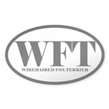 WFT Abbreviated Wirehaired Fox Terrier Decal