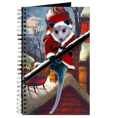 Possum Santa on Rooftop Journal