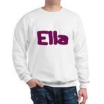 Ella Fat Burgundy Sweatshirt