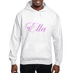 Ella Pink Script Hooded Sweatshirt