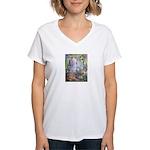 Shortest Way to Heaven Women's V-Neck T-Shirt
