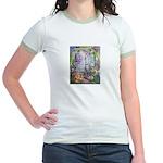 Shortest Way to Heaven Jr. Ringer T-Shirt