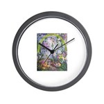 Shortest Way to Heaven Wall Clock