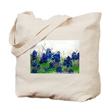 Bluebonnet Painting Tote Bag