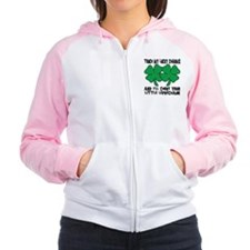 Touch My Lucky Charms Women's Raglan Hoodie