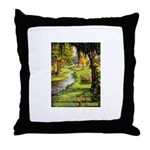 Gardening Decorating Outside Throw Pillow