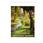 Gardening Decorating Outside Postcards (Package of