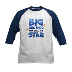 Big Brother - Star Kids Baseball Jersey