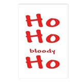 Ho, Ho, Bloody Ho Postcards (Package of 8)