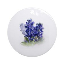 Bluebonnet Spray Keepsake (Round)