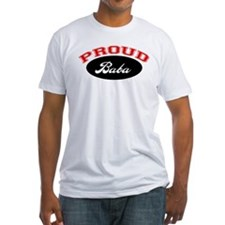 Proud Baba (red and black) Shirt
