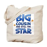 Big Cousin - Star (Blue) Tote Bag