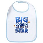 Big Cousin - Star (Blue) Bib