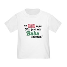 Just Ask Baba! Baby/T
