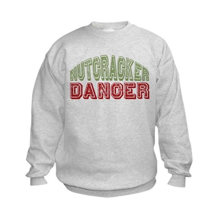 Nutcracker Dancer Christmas Ballet Kids Sweatshirt