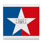 San Antonio Flag Tile Coaster