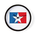San Antonio Flag Wall Clock
