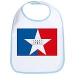 San Antonio Flag Bib