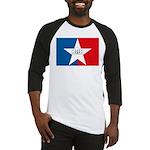 San Antonio Flag Baseball Jersey