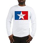 San Antonio Flag Long Sleeve T-Shirt