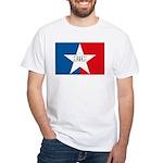 San Antonio Flag White T-Shirt