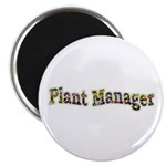 Pansy Plant Manager Magnet