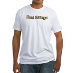 Pansy Plant Manager Fitted T-Shirt