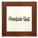 Garden Gal Framed Tile