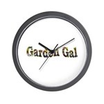 Garden Gal Wall Clock