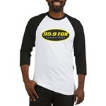 95.9 THE FOX Baseball Jersey