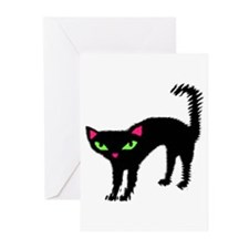 "'FRAIDY CAT"" Greeting Cards (Pk of 10)"