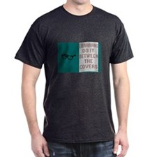 """LIBRARIANS DO IT BETWEEN THE COVERS"" T-Shirt"