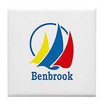 Benbrook Flag Tile Coaster