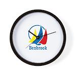 Benbrook Flag Wall Clock
