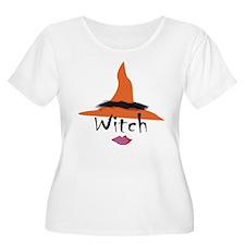 Orange Witch Hat T-Shirt