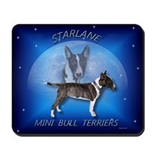 Mini Bull Terrier Mousepad